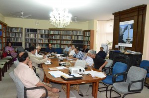 IUCN Pakistan National Committee Members during meeting